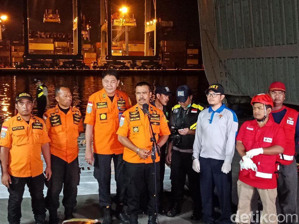 Basarnas Lanjutkan Pencarian Korban Lion Air PK-LQP Besok