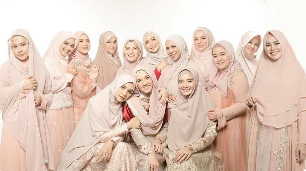 Ini Hijab Squad, Kumpulan Artis Cantik Berhijab Bak Bidadari Surga