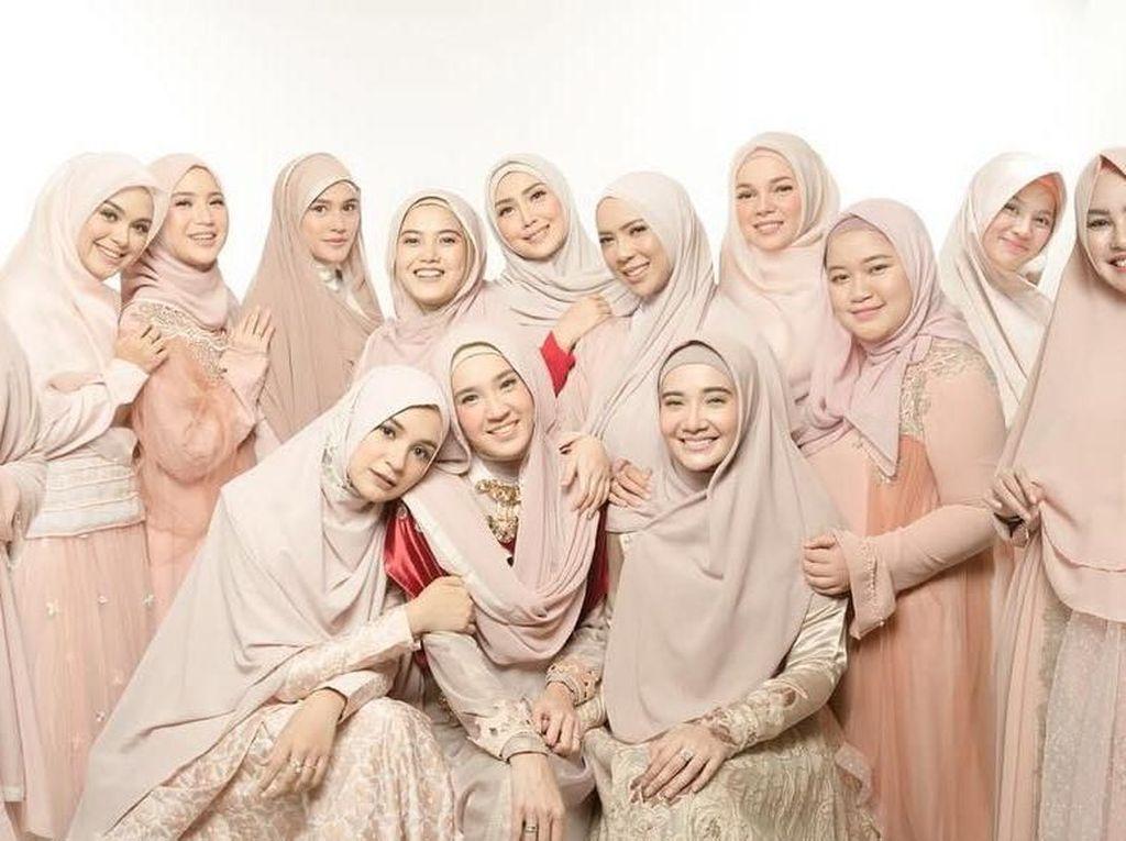 Kompaknya Geng Artis Hijab Squad, dari Pengajian hingga Fashion Show