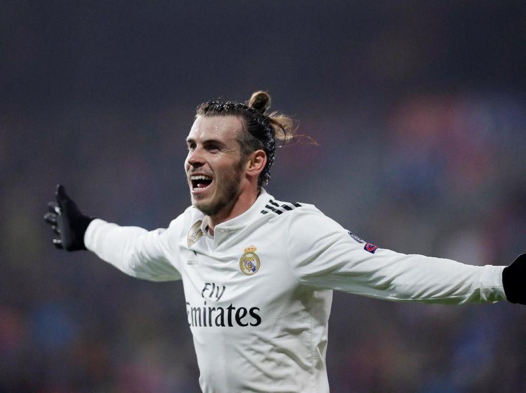Gareth Bale Akhiri Puasa Gol 532 Menit
