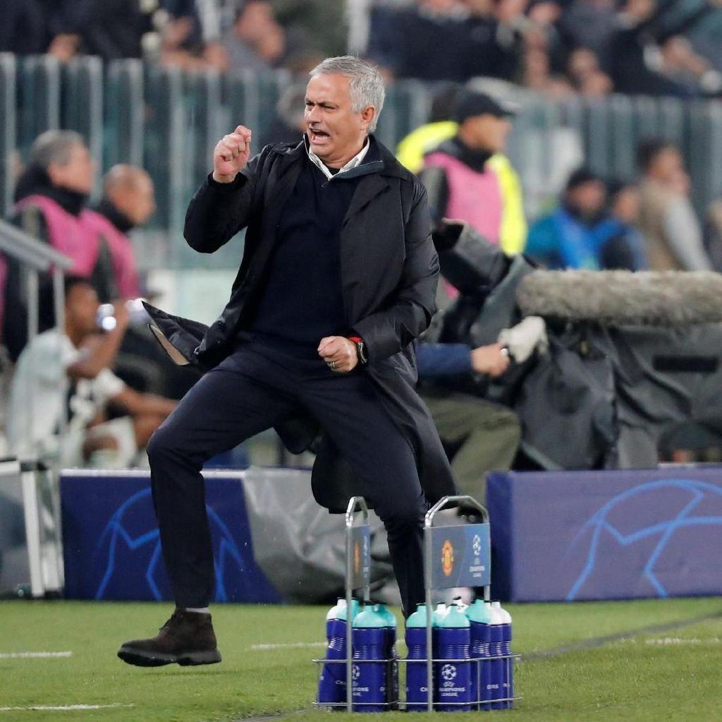 Di MU, Persentase Kemenangan Mourinho Cuma Kalah dari Sir Alex
