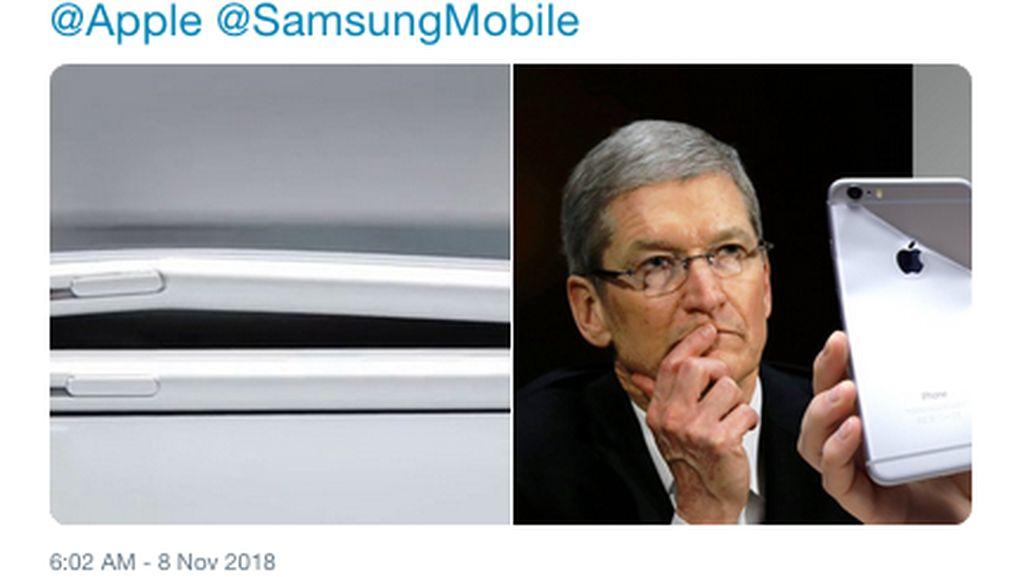 Ponsel Layar Lipat Samsung Hadir, Apple Kena Sindir