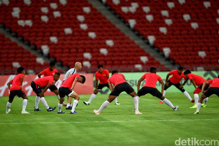 Singapura akan menjamu Indonesia pada laga pertama Piala AFF 2018, Jumat (9/11/2018) besok pukul 19.00 WIB