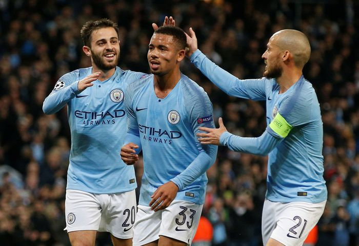 Manchester City membukukan kemenangan besar saat menjamu Shakhtar Donetsk. City menang 6-0 untuk membuka jalan menuju babak 16 besar Liga Champions. REUTERS/Andrew Yates.