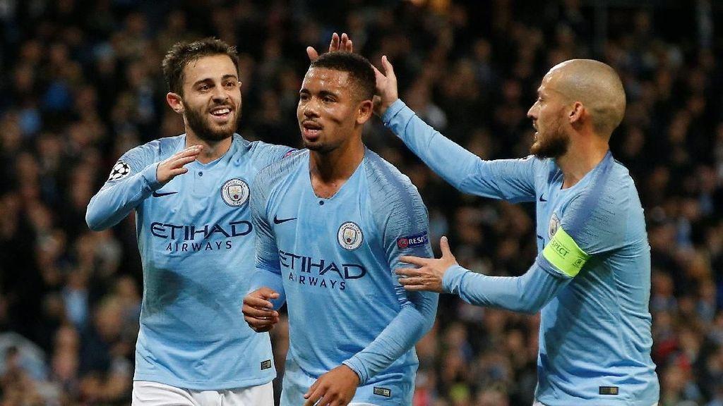 Manchester City Menang Setengah Lusin