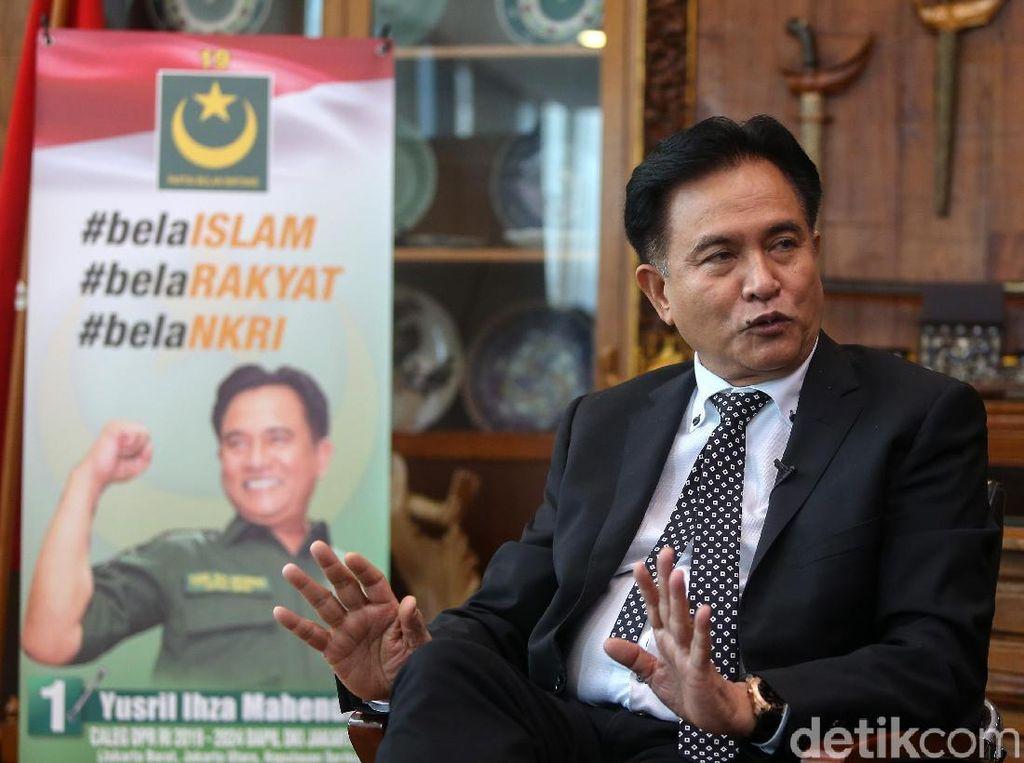 Prabowo Tolak Hasil Pemilu, Yusril: Kalau Ada Kecurangan Wajib Dibuktikan