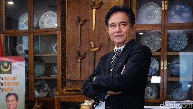 Bela Jokowi Pro Bono, Yusril: Dulu Jadi Ahli Prabowo Juga Gratis