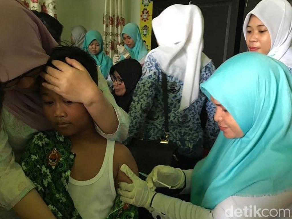 Sebagian Ortu Masih Ragu, Imunisasi MR di Sulsel Sudah 75 Persen