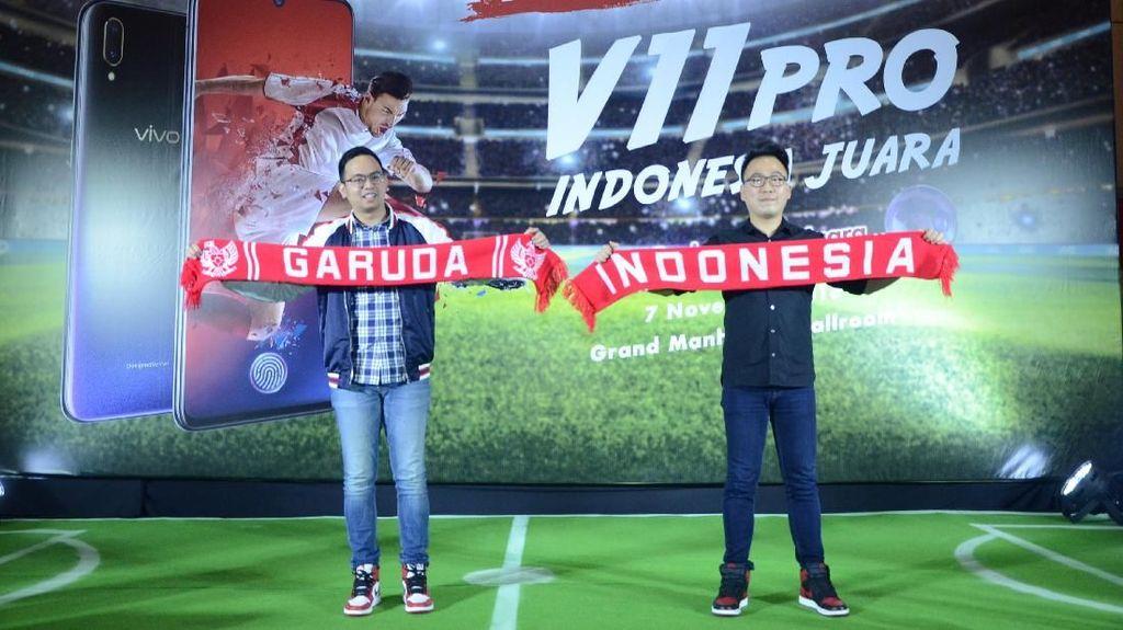 Tantangan Vivo ke Netizen untuk Dukung Timnas di Piala AFF 2018