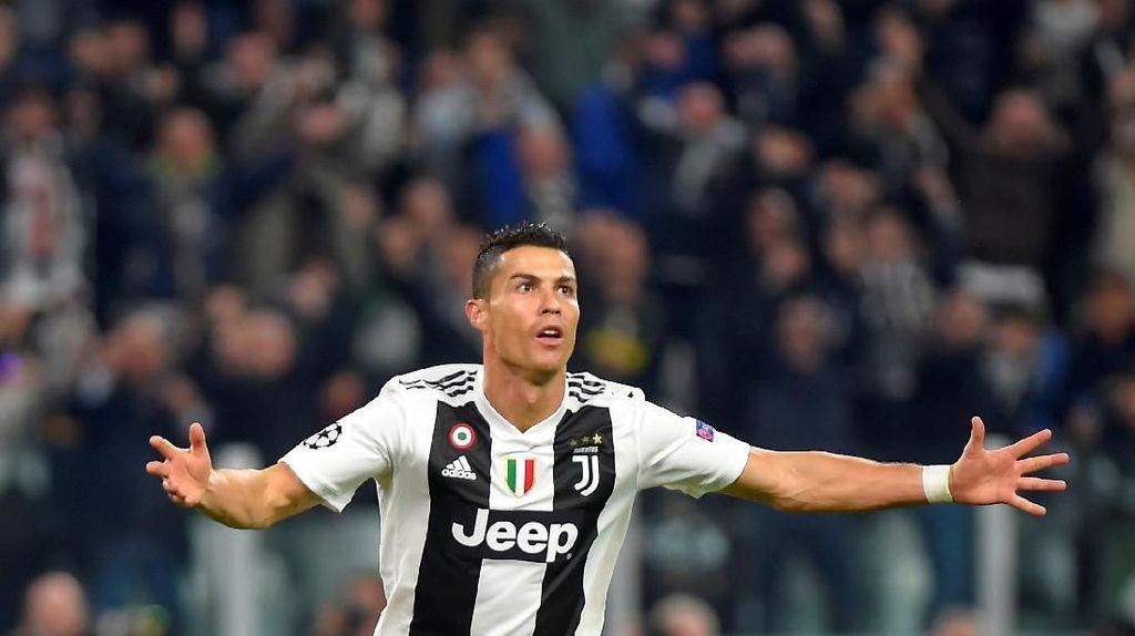 Atletico vs Juventus dan Kans Ronaldo Tambah Gol