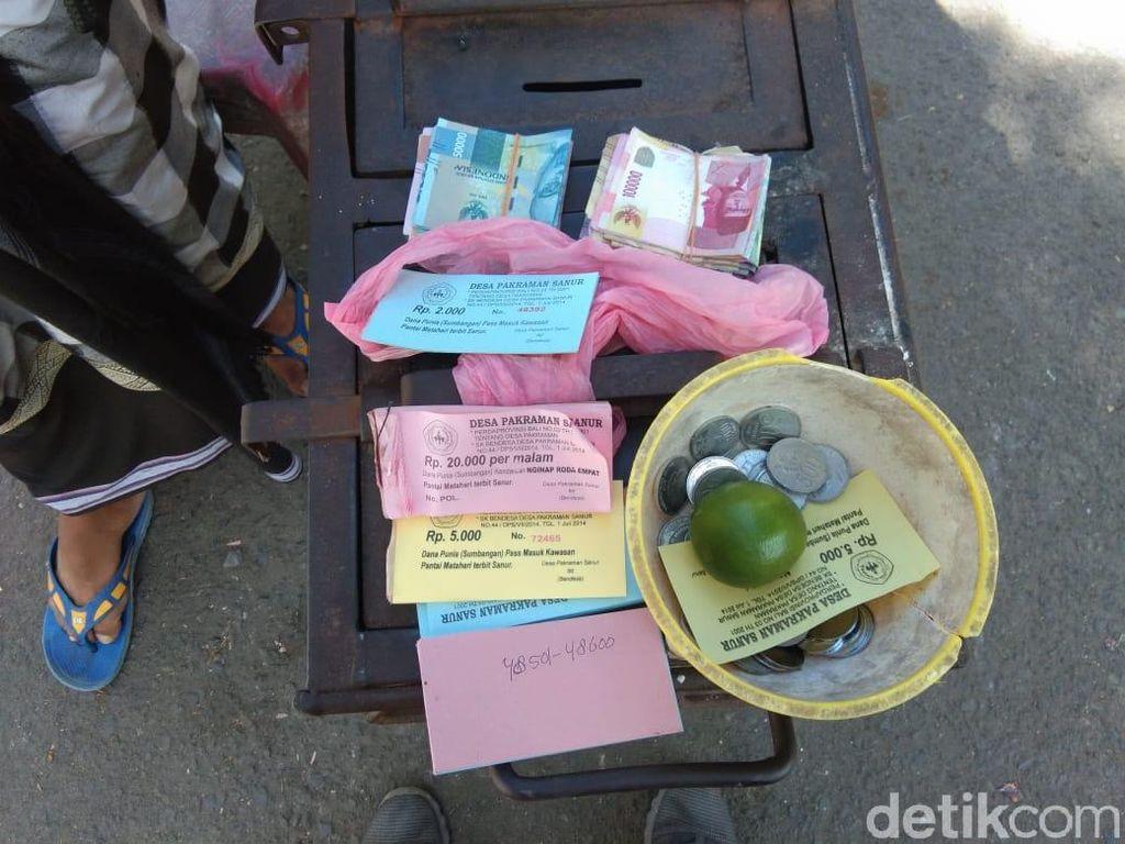 Pungli Parkiran di Pantai Sanur, 11 Orang Ditangkap