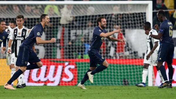 Hasil Juventus Vs MU: Setan Merah Menang Dramatis di Allianz Stadium
