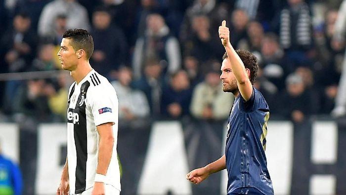 Manchester United menang 2-1 di kandang Juventus (Massimo Pinca/Reuters)