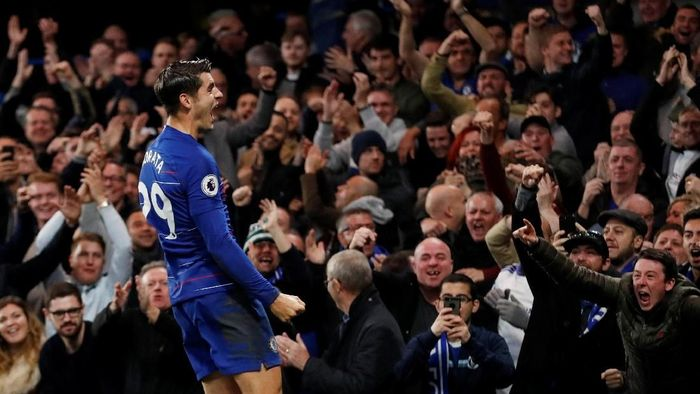 Alvaro Morata takkan bermain di Liga Europa tengah pekan ini (Matthew Childs/Reuters)