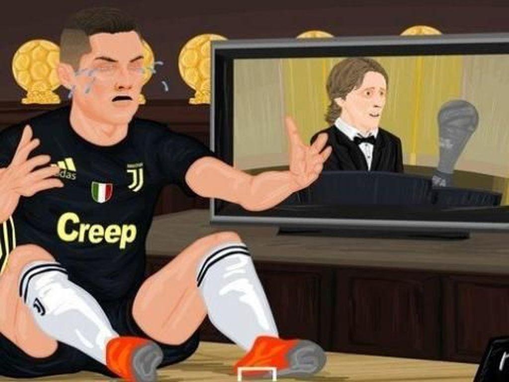Meme: MU Menang, Juventus Tumbang, Ronaldo Jadi Buncit