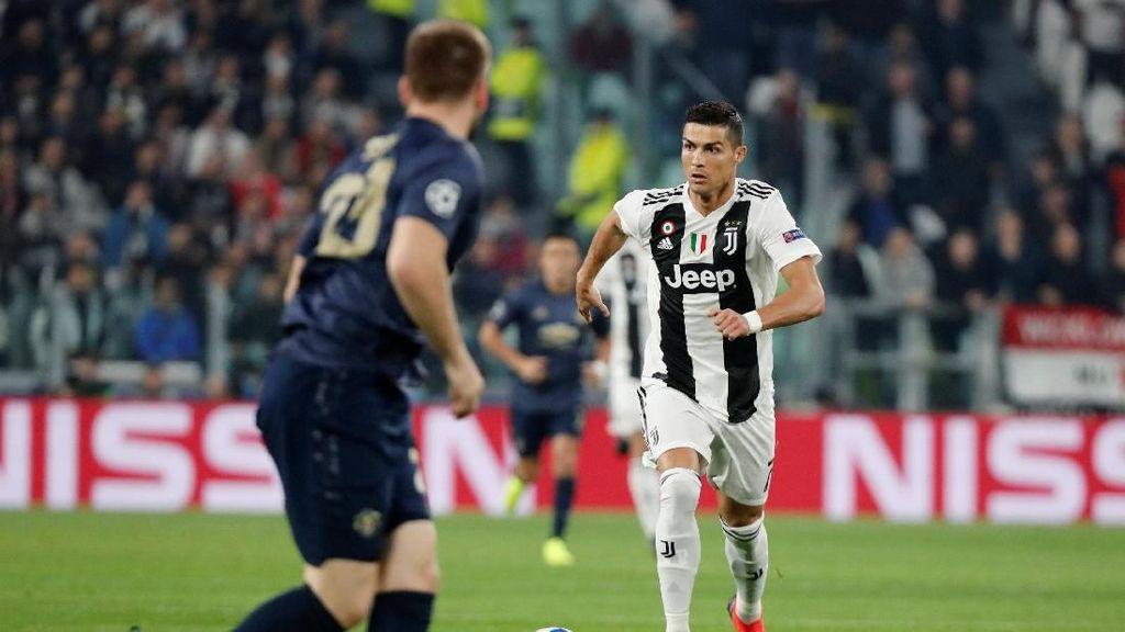 Ronaldo: Juventus Harusnya Menang Telak atas Manchester United