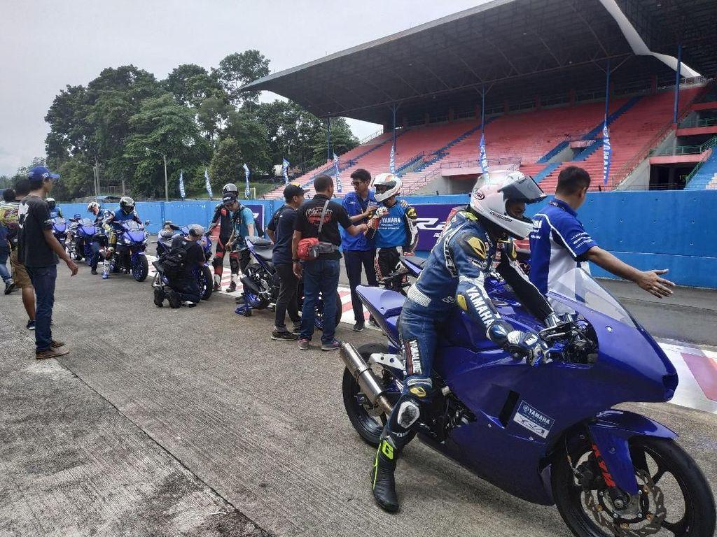 Yamaha Ajak Media Jajal Dua Motor Barunya di Sentul