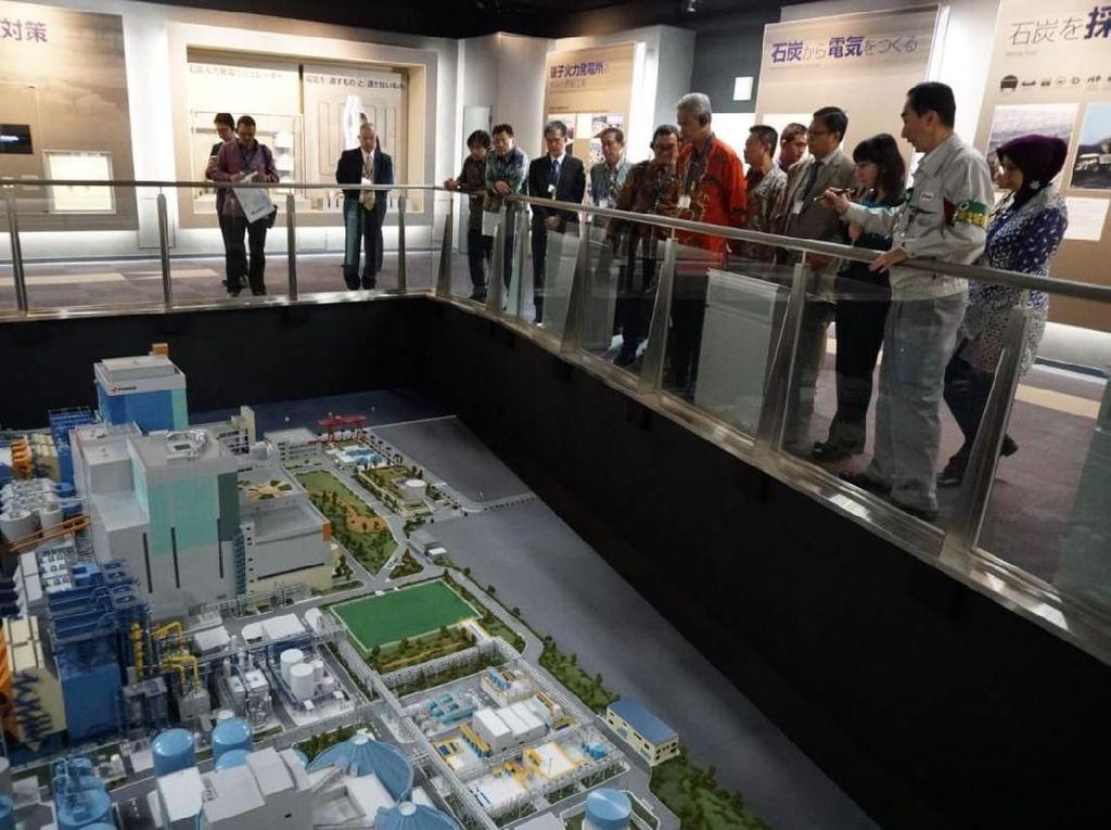 Kunjungi PLTU Jepang, Ganjar Buktikan PLTU Batang Ramah Lingkungan
