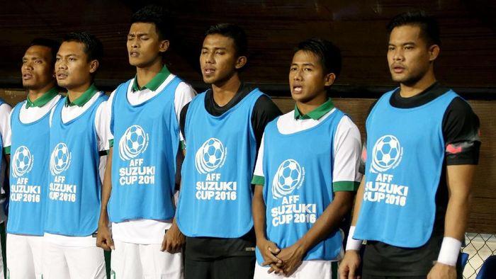 Andritany Ardhiyasa merupakan kiper cadangan di Piala AFF 2018. Dia menjadi pelapis Kurnia Meiga Hermansyah. (Foto: Rachman Haryanto/detikcom)
