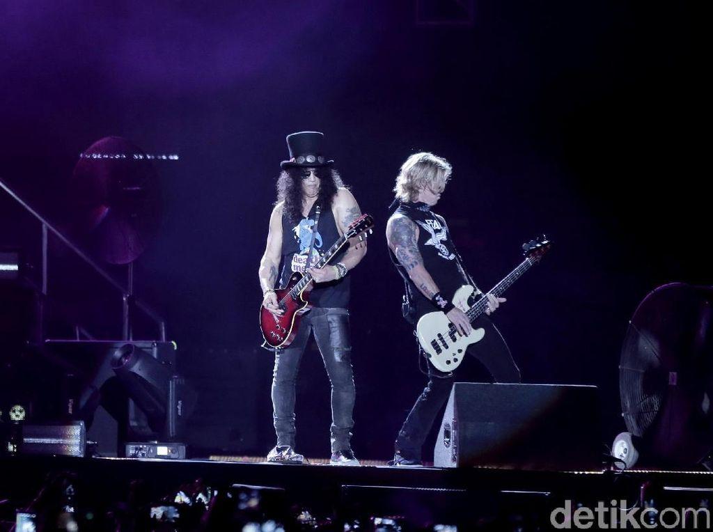 Bukan Cuma Omong Kosong, Album Baru Guns N Roses Bakal Terwujud