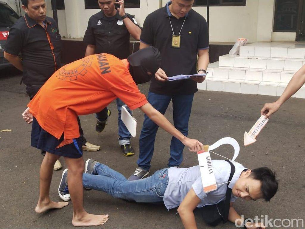 Polisi Gelar Rekonstruksi Tawuran di Jaksel yang Tewaskan Pelajar