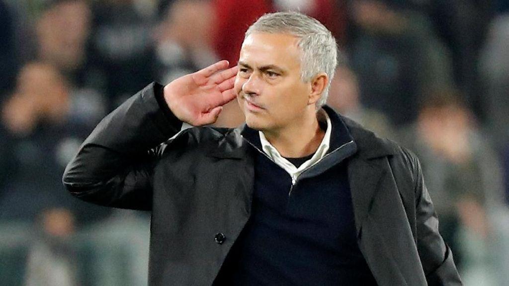 Video Selebrasi Provokatif Mourinho: Juventini Mana Suaranya...