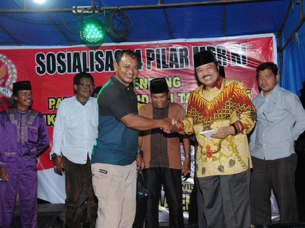 MPR Sosialisasi Empat Pilar Lewat Seni Budaya Kuansing
