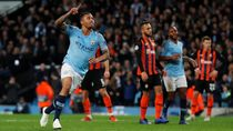 Video Pesta 6 Gol City ke Gawang Shakhtar