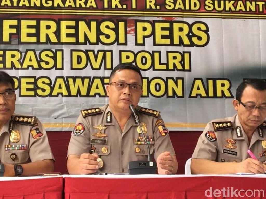 Total 186 Kantong Jenazah Korban Lion Air Diterima RS Polri