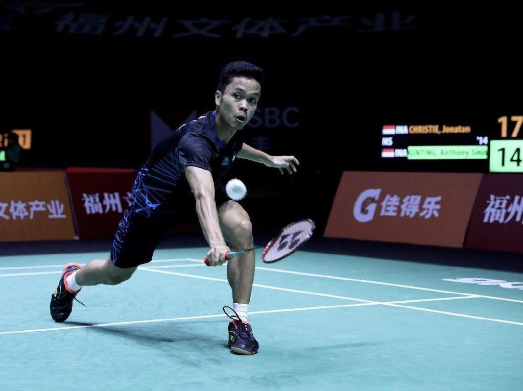 Jadwal Perempatfinal China Terbuka 2018