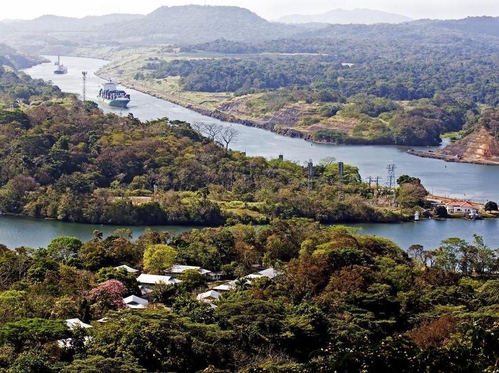 Potret Panama yang Bahagia dan Terusan yang Legendaris