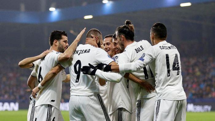 Real Madrid menang telak 5-0 di kandang Viktoria Plzen (REUTERS/David W Cerny)