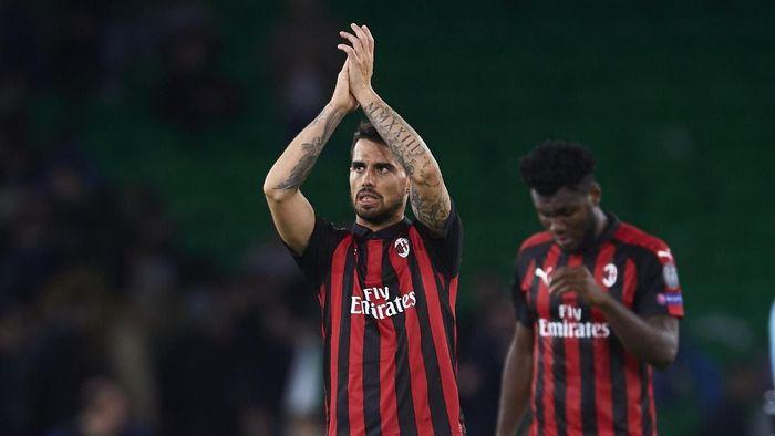 Suso bisa jadi kunci kemenangan AC Milan dalam duel dengan Inter Milan (Aitor Alcalde/Getty Images)