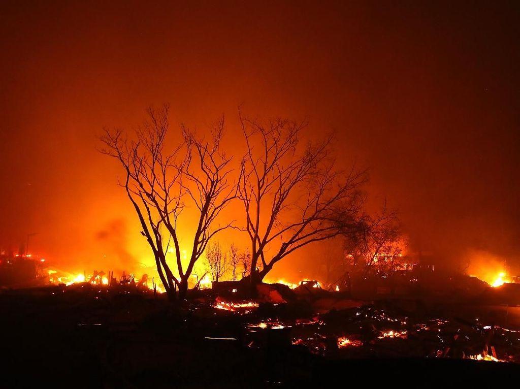 Ribuan Warga Dievakuasi Akibat Kebakaran Hebat di California