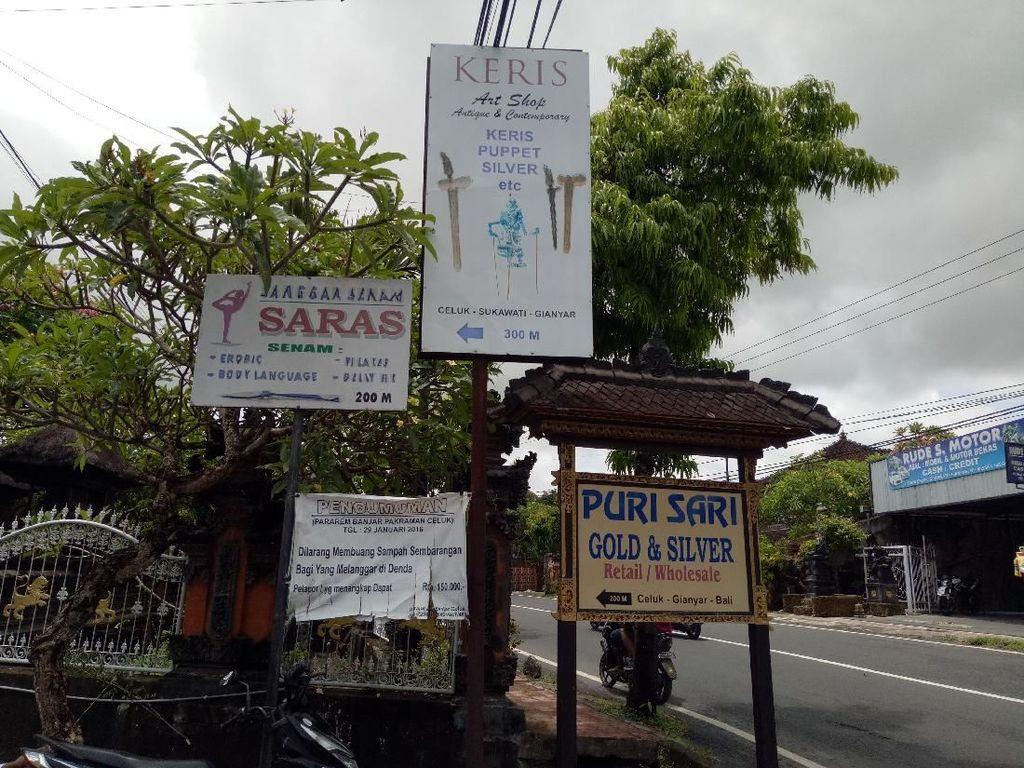Melihat Desa Celuk Bali yang Ratusan Tahun Bikin Kerajinan Perak