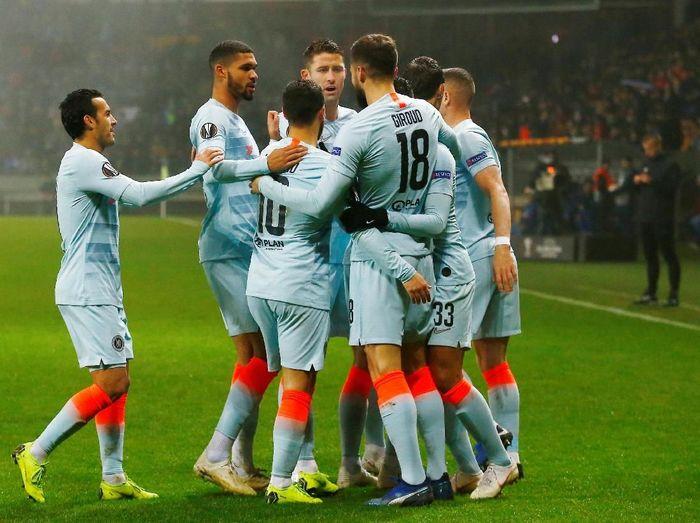 Chelsea masih belum terkalahkan musim ini (Vasily Fedosenko/Reuters)