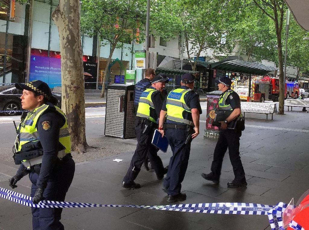 Video Penikaman di Melbourne, Pelaku Ditembak!