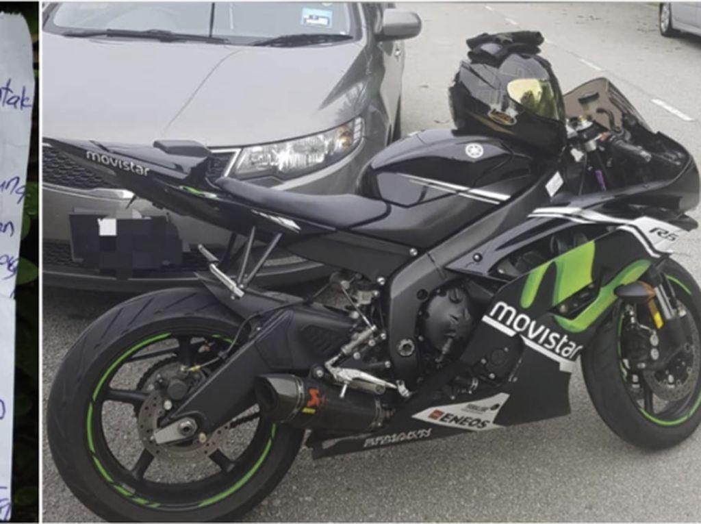 Hanya Ingin Test Ride, Maling Kembalikan Yamaha R6 ke Pemiliknya
