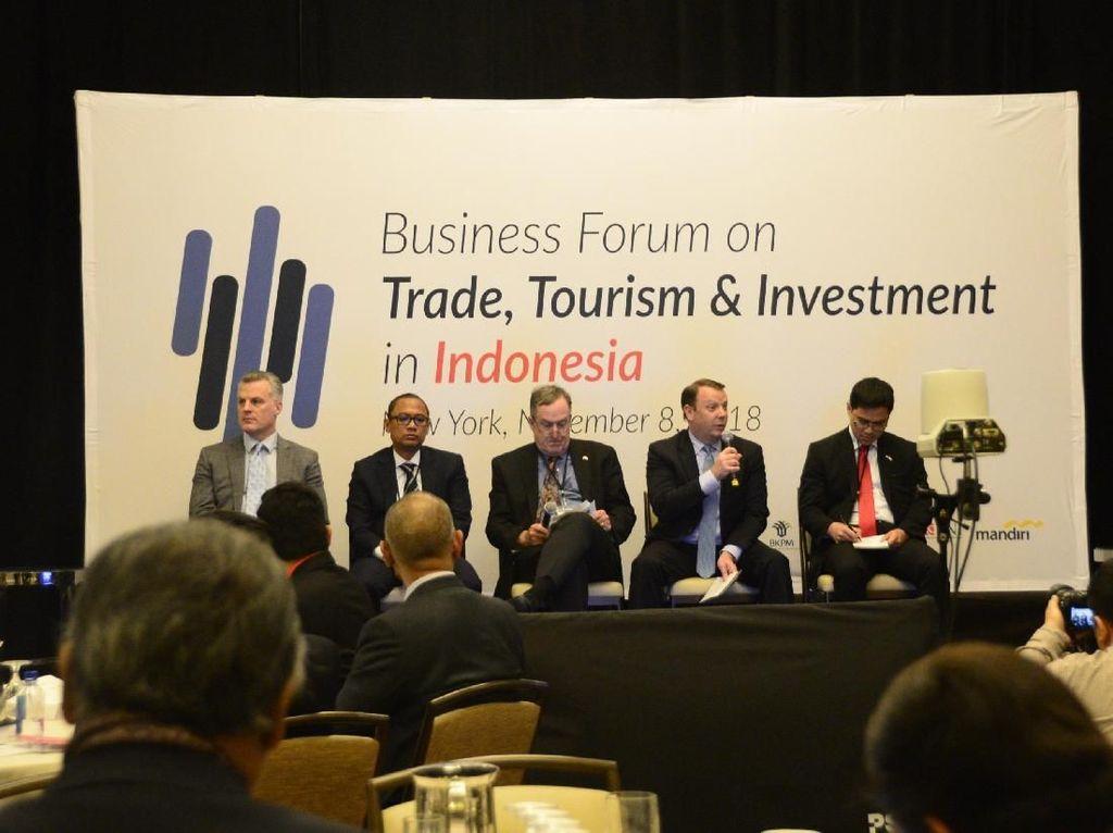 200 Pengusaha AS Tertarik Investasi di Indonesia