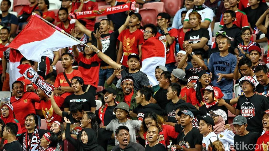 Dukungan Tanpa Syarat Suporter Indonesia