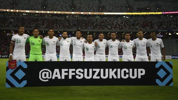 Timnas Indonesia bertekad menorehkan tiga poin perdana saat menghadapi Timor Leste. (