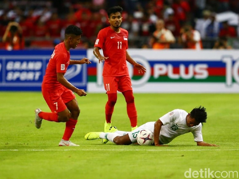 Hasil Piala AFF 2018: Singapura Vs Indonesia 1-0