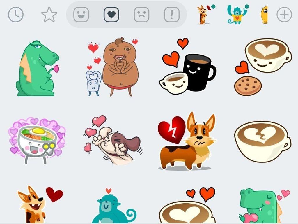 Stiker WhatsApp Segera Dilengkapi Fitur Search?
