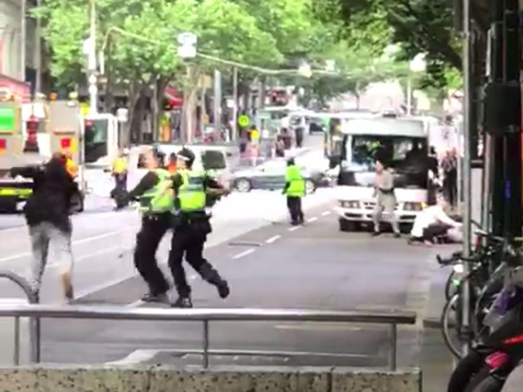 Yasonna Lihat Aksi Penikaman di Melbourne yang Tewaskan 1 Orang