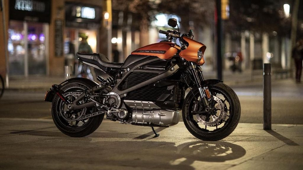 Motor Listrik Keren Harley