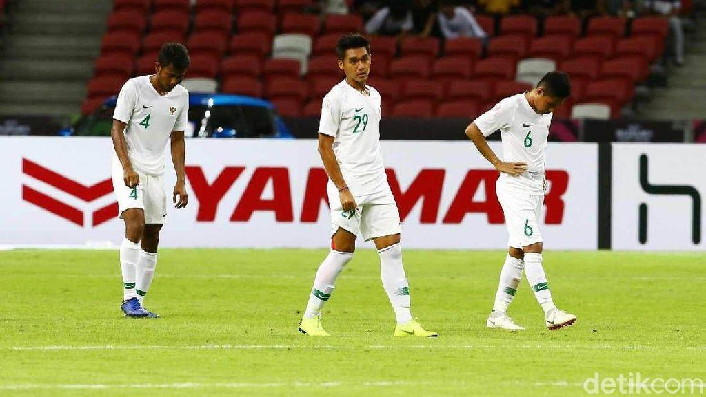 Piala AFF 2018: Indonesia Terhenti di Fase Grup