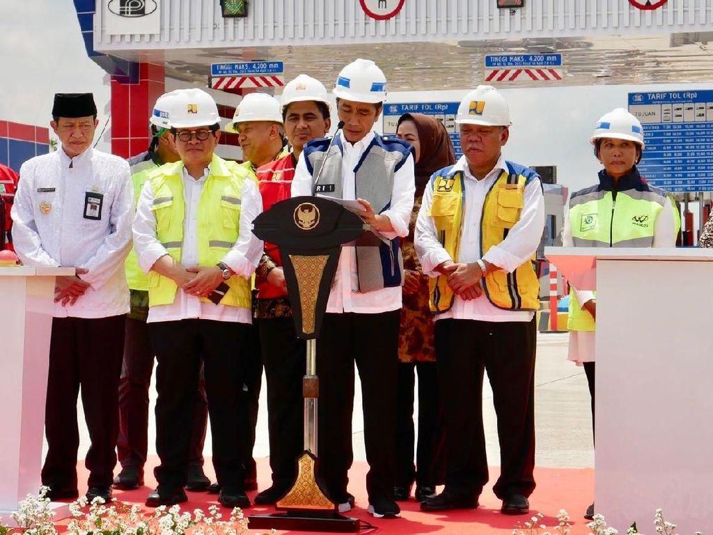 Jokowi: Merak-Surabaya Tersambung Tol Pertengahan Desember