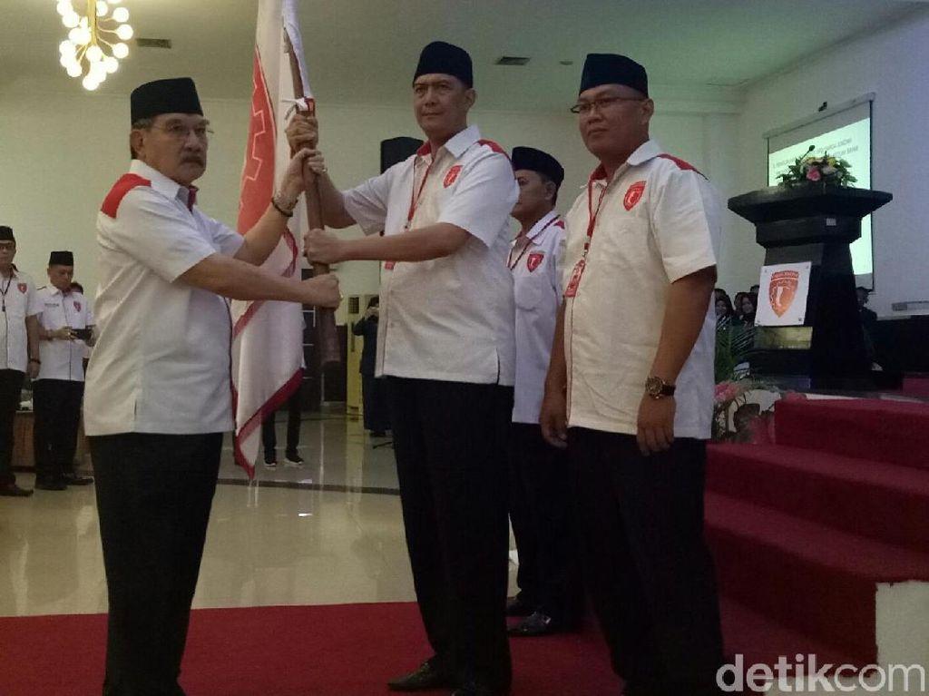 Lantik Pengurus Garda Sumsel, Antasari Azhar Siap Menangkan Jokowi