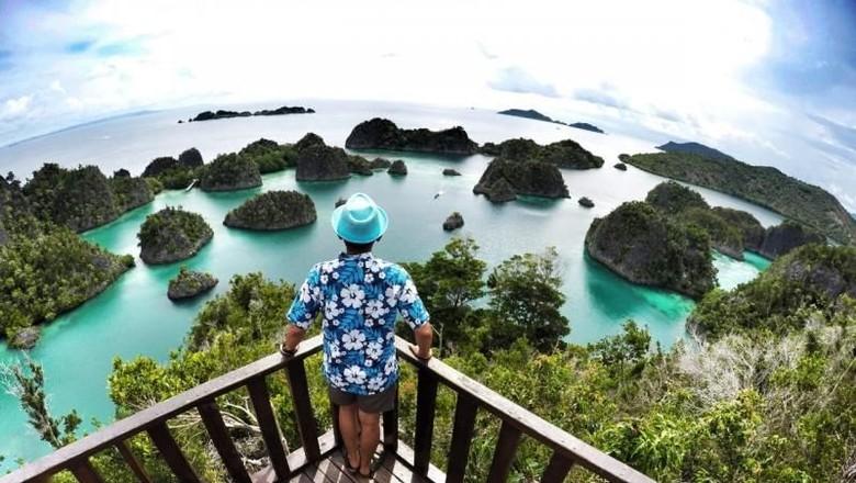 Raja Ampat, salah satu destinasi bawah bahari terindah di Indonesia (Asri Vernon/dtraveler)