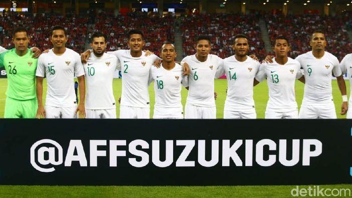 Indonesia menjalani start buruk di Piala AFF 2018, Jumat (9/11). Skuat Garuda harus menerima kekalahan 0-1 dari Singapura.